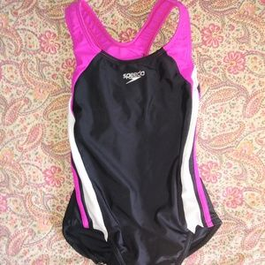 Girl's Speedo Bathing Suit one piece